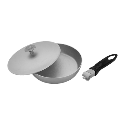 Сковорода 200 мм со съемной ручкой
